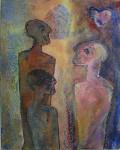 Akrylmaleri 60x40 cm
