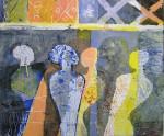 Akrylmaleri 60x40cm
