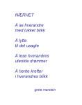 Nærhet (dikt av grete marstein)